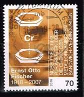 Bund 2018, Michel# 3420 O 100. Geburtstag Von Ernst Otto Fischer - [7] République Fédérale
