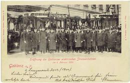 GABLONZ An Der Neiße  - Sudeten - Jablonec Nad Nisou - Eröffnung Der Gablonzer Elektischen Strassenbahnen  1900 - Tram - Sudeten