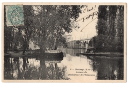 CPA 78 - POISSY (Yvelines) - 6. Annexe Du Restaurant De L'Esturgeon - Poissy