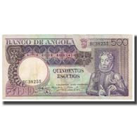Billet, Angola, 500 Escudos, 1973, 1973-06-10, KM:107, SUP - Angola