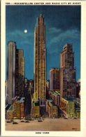 New York City Rockefeller Center & Radio City By Night - New York City