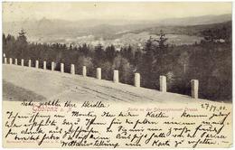 GABLONZ An Der Neiße  - Sudeten - Jablonec Nad Nisou - Partie An Der Schwarzbrunner Strasse - Gesendet 1900 - Sudeten