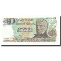 Billet, Argentine, 50 Pesos Argentinos, KM:314a, NEUF - Argentina