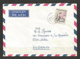 CSSR  -  Traveled Cover To BULGARIA  - D 3961 - Cecoslovacchia