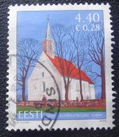 Estonia 2006 CHURCH . IGLESIA  Mi 566 Used Stamps  (o) Arhitekture ALB - 62 - 27- 4 - Estonia