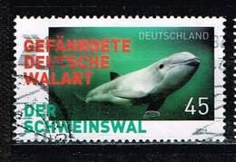 Bund 2018, Michel# 3436 O  Gefährdete Tiere In Deutschland, Schweinswal - Gebraucht