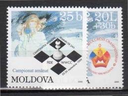 MOLDAVIE - N° 298/9  **  (1999) - Moldavie