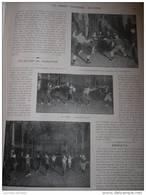 1902 LE SPORT AU THÉATRE - LEÇON D'ESCRIME - LEÇON DE CANNE - 1900 - 1949