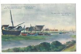 21896 - Au Port De Nairn Dessin Gruffel 1907 Le Devoir Actuel Est De Vivre Une Belle Vie.... - Nairnshire