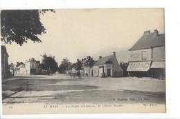 """21899 - Le Mans La Route D'Alençon La Chasse Royale TABAC """"A LA NOUVELLE CHASSE"""" 1918 - Le Mans"""