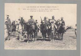 CPA (Mar.) Ain-Fritissa - Police Montée Franco-Marocaine Dirigée Par Le Maréchal Des Logis Petit - Altri