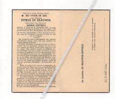 PETRUS DE BRAUWER ° HUISE 1867 + MULLEM 1952 / MARIA GHYSELS - Andachtsbilder