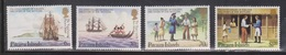 PITCAIRN ISLANDS Scott # 225-8 MNH - Discovery Of Settlers - Stamps