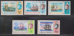 PITCAIRN ISLANDS Scott # 67-71 MH - Discovery Of Pitcairn Islands - Stamps