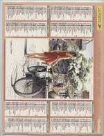 Almanach Du Facteur, 2007, Vélo Solex, Traction Avant,Yohann Roux, Peintre,département Haute-Garonne, St Gaudens,Muret - Calendars