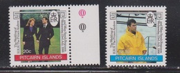 PITCAIRN ISLANDS Scott # 275-6 MNH - Royal Wedding Prince Andrew - Stamps