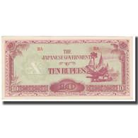 Billet, Birmanie, 10 Rupees, KM:16b, NEUF - Myanmar