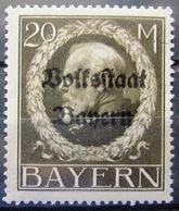ALLEMAGNE - BAVIERE                N° 135                   NEUF** - Bayern