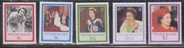 PITCAIRN ISLANDS Scott # 270-4 MNH - QEII 60th Birthday - Stamps