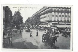 21909 - Paris Boulevard Des Capucines Calèches - Arrondissement: 09