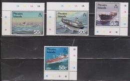 PITCAIRN ISLANDS Scott # 281-4 MNH - Ships - Pitcairn Islands