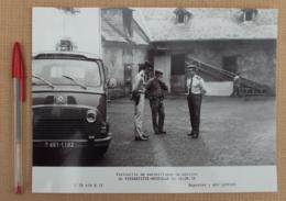 214, Militaria Gendarmerie Gendarmes Gendarme, 1978, Patrouille Du Peloton De Pierrefitte-Nestalas - Guerre, Militaire