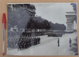 221, Militaria Gendarmerie Gendarmes Gendarme, Défilé Du 14 Juillet 1935, Photo-Presse Fulgur - Guerre, Militaire