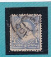 Etats-Unis  N°97a + Fleuron  - 1894 -  B. FRANKLIN   - Oblitérés - Used Stamps