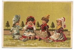 CHROMO - Marionnettes - Le Jour De Réception - Chromos