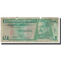 Billet, Guatemala, 1 Quetzal, 1992, 1992-01-22, KM:73c, B - Guatemala