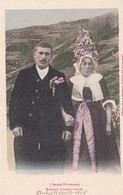 L'ARIEGE PITTORESQUE. MASSATOIS NOVEAUX MARIES. FAURE ET SES FILS. CPA CIRCA 1905s ETAT DELUXE - BLEUP - Personajes