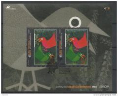 Açores 2003 Bloc N°25 Oblitéré Thème Europa Art De L'affiche - Europa-CEPT