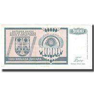 Billet, Bosnia - Herzegovina, 1000 Dinara, 1992, KM:137a, TTB - Bosnia And Herzegovina