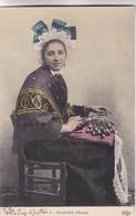 DENTELLIERE D'ESPALY. ELD. COLORISE. CPA CIRCA 1910s ETAT DELUXE - BLEUP - Personajes