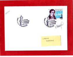 F 2019 / 1.05 €  Augustin Fresnel Obl 1er Jour 03.05.2019 Paris / Signé Sophie Beaujard / Signature - France