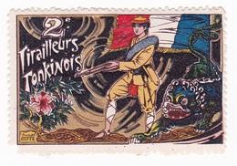Vignette Militaire Delandre - 2ème Régiment De Tirailleurs Tonkinois - Vignettes Militaires
