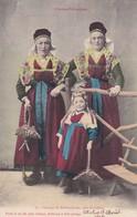 L'ARIAGE PITTORESQUE. GROUPE DE BETHMALAISES PRES CASTILLON. FAURE ET FILS. COLORISE. CIRCA 1905s ETAT DELUXE - BLEUP - Personajes