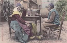 L'ARIAGE PITTORESQUE. TYPES BETHMALAIS. FAURE ET FILS. COLORISE. CIRCA 1905s ETAT DELUXE - BLEUP - Personajes