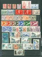 New Caledonia  WYSIWYG  BOB LOT Of 46 Incl 6 SETS Views Aircraft Red Cross More.MINT USED Cat.$120 WYSIWYG  A04s - New Caledonia