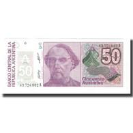 Billet, Argentine, 50 Australes, KM:326b, NEUF - Argentine