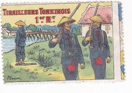 Vignette Militaire Delandre - 1er Régiment De Tirailleurs Tonkinois - Vignettes Militaires