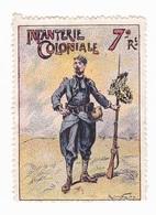 Vignette Militaire Delandre - 7ème Régiment D'infanterie Coloniale - Militario