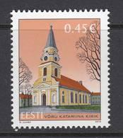 Estland 2013. Kirche Aus Võru. 1 W. MNH. - Estonia