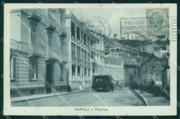 Napoli Città Posillipo Sala Da Tè Tram Cartolina MX5091 - Napoli