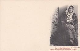 UNE BALAGUERAISE. CANTON DE CASTILLON EN COUSERANS, ARIEGE. SAINT GIRONS. CIRCA 1904s - BLEUP - Personajes