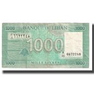 Billet, Lebanon, 1000 Livres, KM:84a, TTB - Lebanon