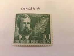 Berlin O. Mergenthaler Inventor Mnh 1954 - [5] Berlin