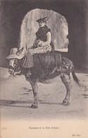 PAYSANNE DE LA COTE D'AZUR. ND PHOT. CIRCA 1904s - BLEUP - Personajes