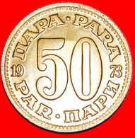 + LARGE TYPE (1965-1981): YUGOSLAVIA ★ 50 PARA 1973 MINT LUSTER! LOW START ★ NO RESERVE! - Yugoslavia
