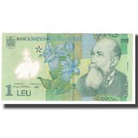 Billet, Roumanie, 1 Leu, 2005, 2005-07-01, KM:117a, SPL - Roumanie